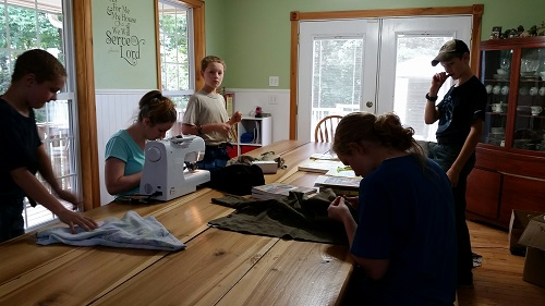 Sewing WWII Costumes